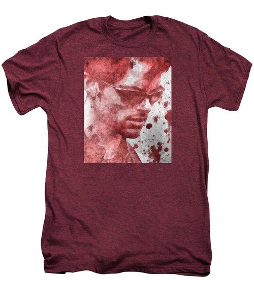 Cyclops X Men Paint Splatter Men's Premium T-Shirt by Dan Sproul