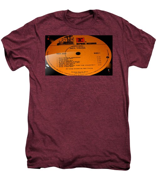 Harvest - Neil Young Side 1 Men's Premium T-Shirt by Marcello Cicchini