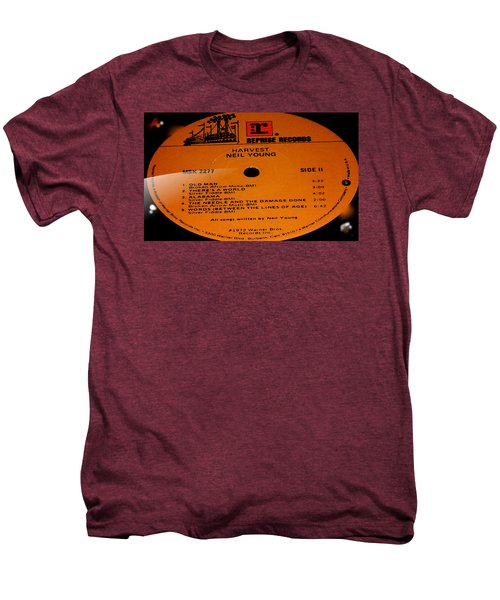 Harvest Neil Young Side 2 Men's Premium T-Shirt by Marcello Cicchini