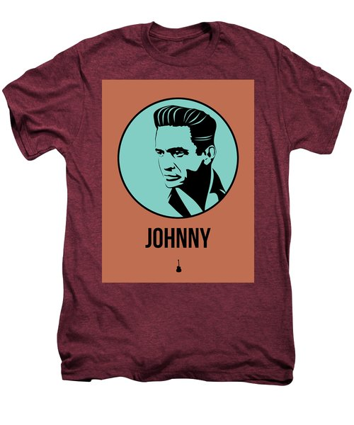 Johnny Poster 1 Men's Premium T-Shirt by Naxart Studio