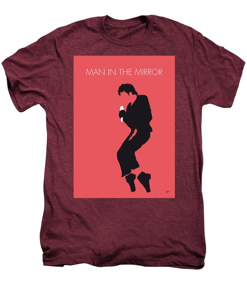 No032 My Michael Jackson Minimal Music Poster Men's Premium T-Shirt by Chungkong Art