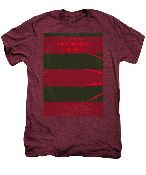 No265 My Nightmare On Elmstreet Minimal Movie Poster Men's Premium T-Shirt by Chungkong Art