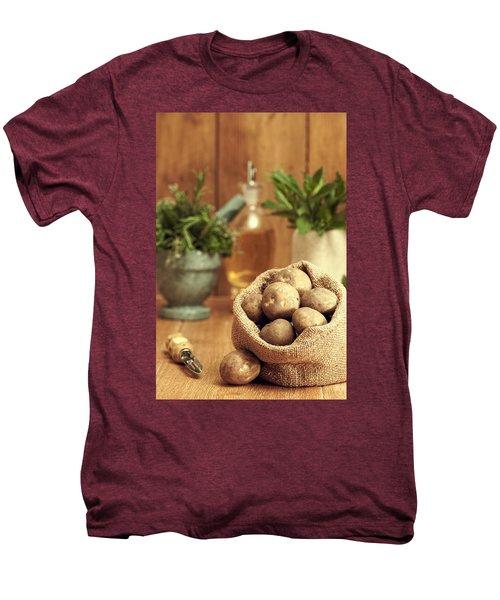 Potatoes Men's Premium T-Shirt by Amanda Elwell
