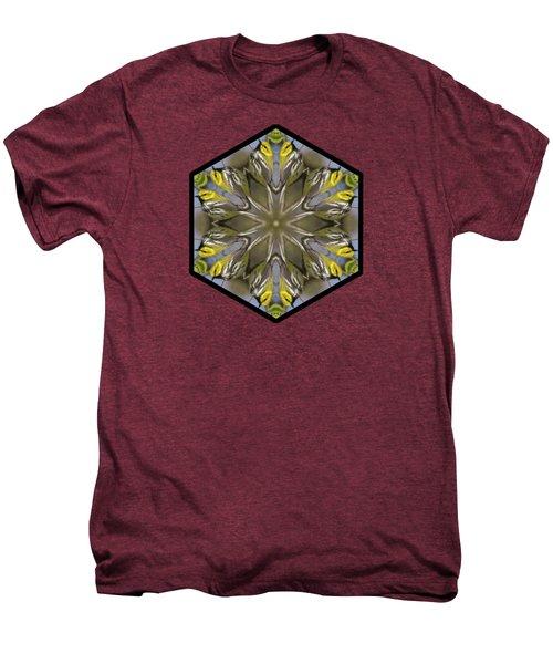 Black-throated Green Warbler Men's Premium T-Shirt by Rhoda Gerig