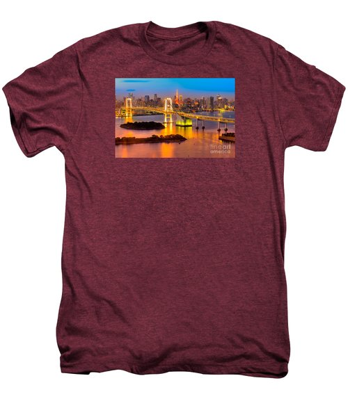 Tokyo - Japan Men's Premium T-Shirt by Luciano Mortula