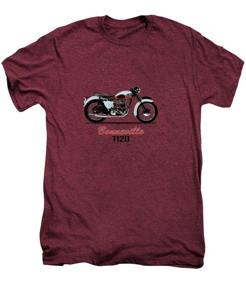 1959 T120 Bonneville Men's Premium T-Shirt by Mark Rogan