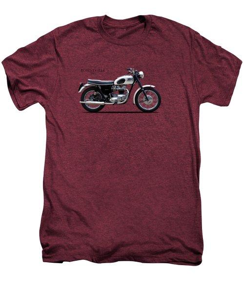 Triumph Bonneville 1963 Men's Premium T-Shirt by Mark Rogan