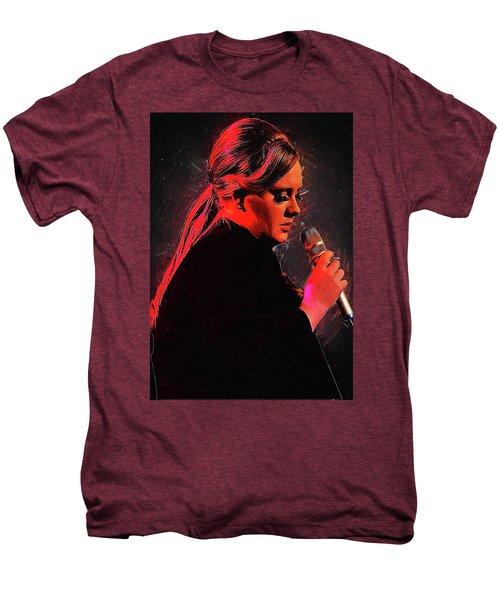 Adele Men's Premium T-Shirt by Semih Yurdabak