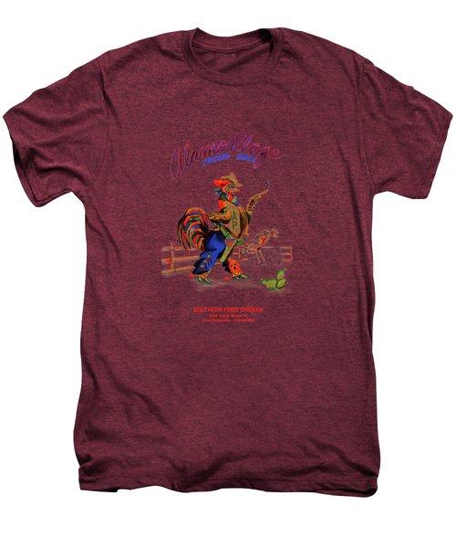 Alamo Plaza Tennessee 1950s Men's Premium T-Shirt by Mark Rogan