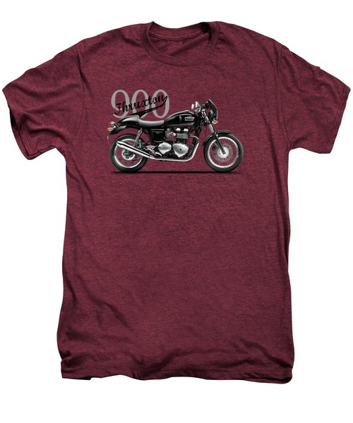Triumph Thruxton Men's Premium T-Shirt by Mark Rogan
