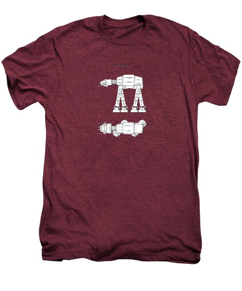 Star Wars - At-at Patent Men's Premium T-Shirt by Mark Rogan