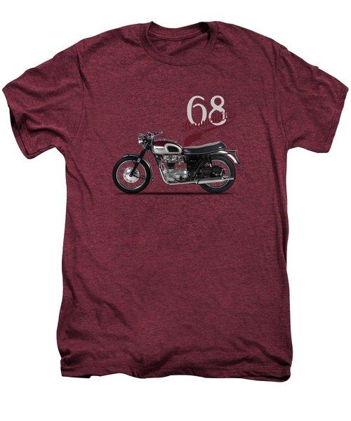 Triumph Bonneville T120 1968 Men's Premium T-Shirt by Mark Rogan