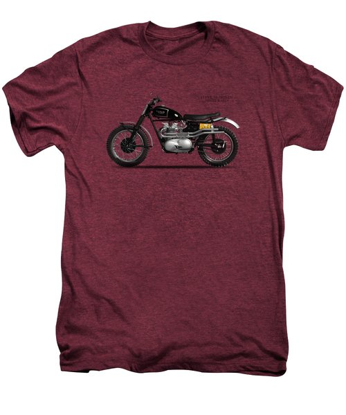 The Steve Mcqueen Desert Racer Men's Premium T-Shirt by Mark Rogan