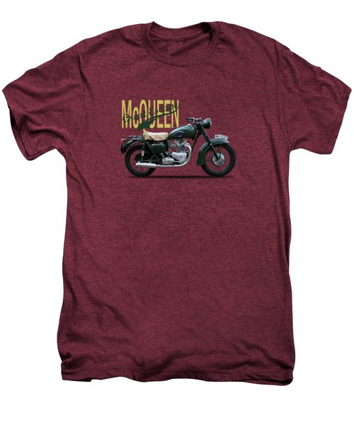 The Great Escape Motorcycle Men's Premium T-Shirt by Mark Rogan