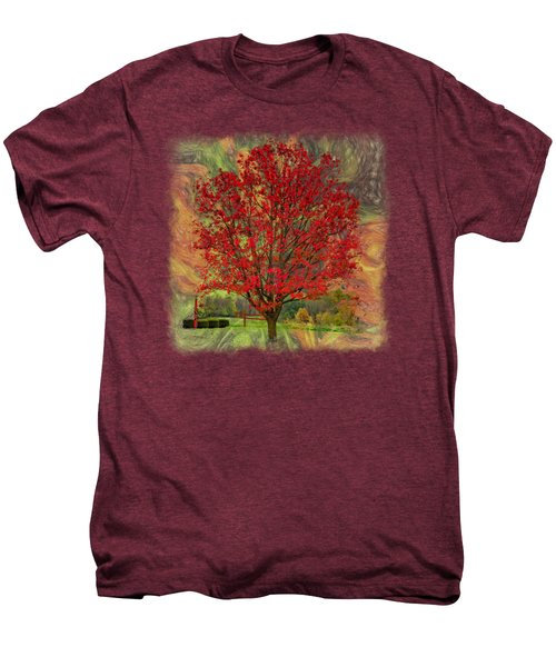 Autumn Scenic 2 Men's Premium T-Shirt by John M Bailey