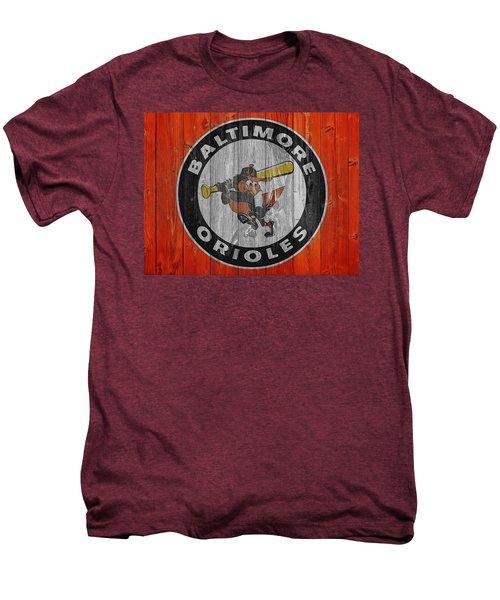 Baltimore Orioles Graphic Barn Door Men's Premium T-Shirt by Dan Sproul