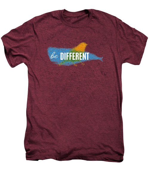 Be Different Men's Premium T-Shirt by Aloke Design