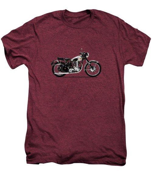 Bsa Gold Star 52 Men's Premium T-Shirt by Mark Rogan