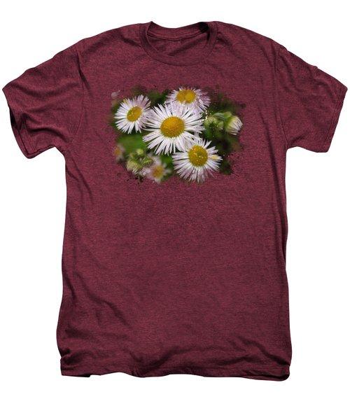 Daisy Watercolor Art Men's Premium T-Shirt by Christina Rollo