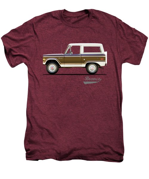Ford Bronco Ranger 1976 Men's Premium T-Shirt by Mark Rogan
