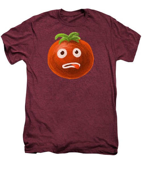 Funny Tomato Men's Premium T-Shirt by Boriana Giormova