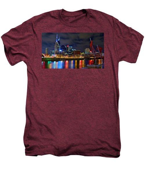 Ghost Ballet In Nashville Men's Premium T-Shirt by Frozen in Time Fine Art Photography