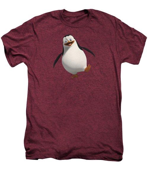 Happy Penguin Men's Premium T-Shirt by T Shirts R Us -