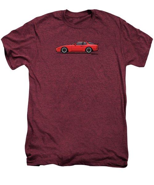 India Red 1986 P 944 951 Turbo Men's Premium T-Shirt by Monkey Crisis On Mars