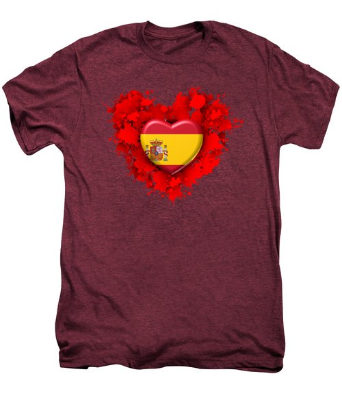 Love Spain Men's Premium T-Shirt by Alberto RuiZ