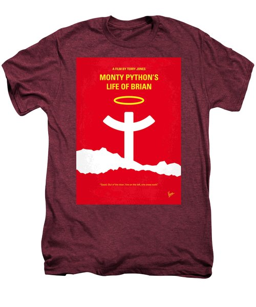 No182 My Monty Python Life Of Brian Minimal Movie Poster Men's Premium T-Shirt by Chungkong Art