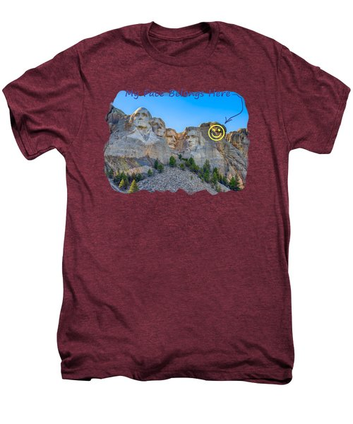 One More Men's Premium T-Shirt by John M Bailey