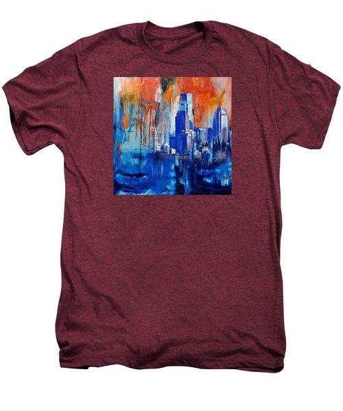 Philadelphia Skyline 227 1 Men's Premium T-Shirt by Mawra Tahreem