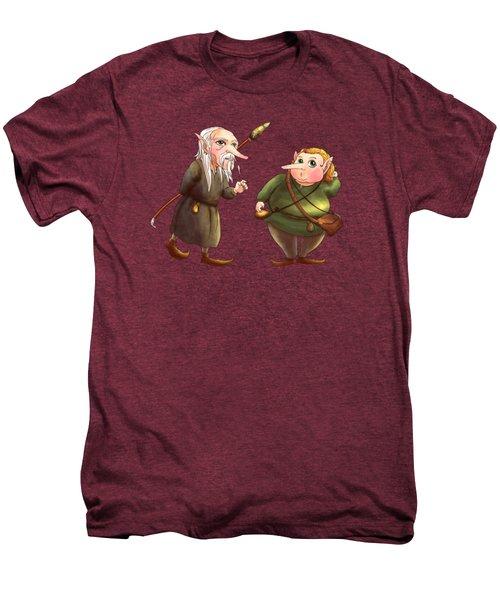 Rupert And Shuman Men's Premium T-Shirt by Reynold Jay