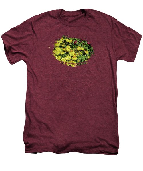 Smiling Daisies Men's Premium T-Shirt by Thom Zehrfeld