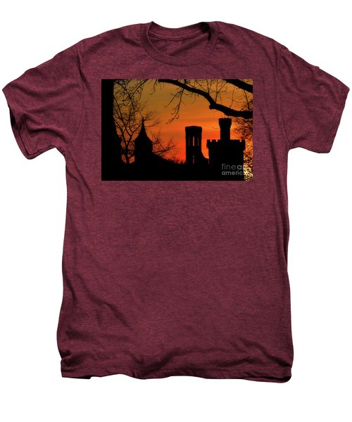 Smithsonian Castle Men's Premium T-Shirt by Luv Photography