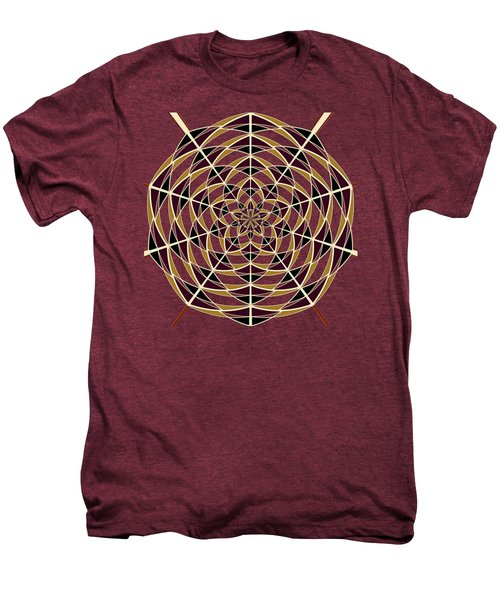 Spider Web Men's Premium T-Shirt by Gaspar Avila