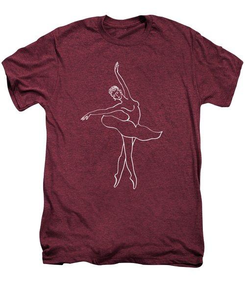 Swan Lake Dance Men's Premium T-Shirt by Irina Sztukowski
