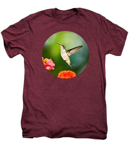 Sweet Promise Hummingbird Men's Premium T-Shirt by Christina Rollo