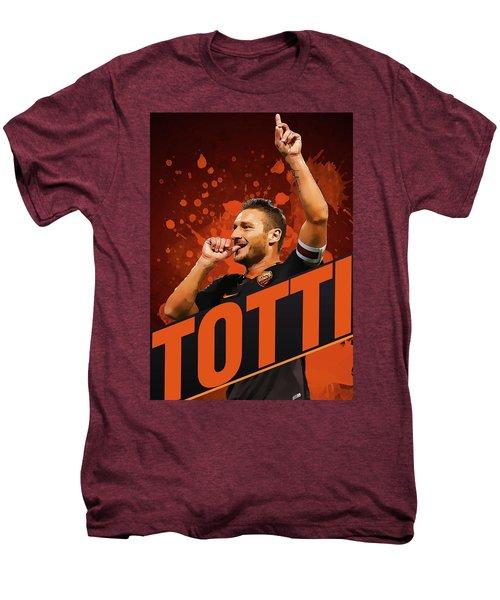 Totti Men's Premium T-Shirt by Semih Yurdabak