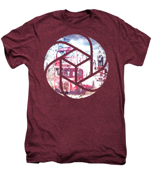 Trendy Design London Red Buses  Men's Premium T-Shirt by Melanie Viola