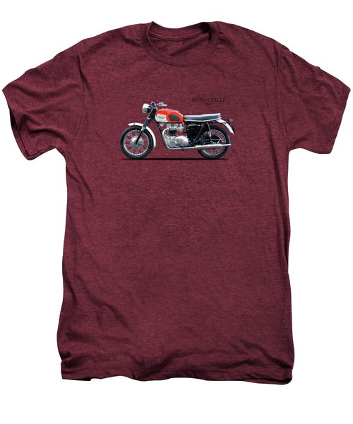 Triumph Bonneville 1966 Men's Premium T-Shirt by Mark Rogan