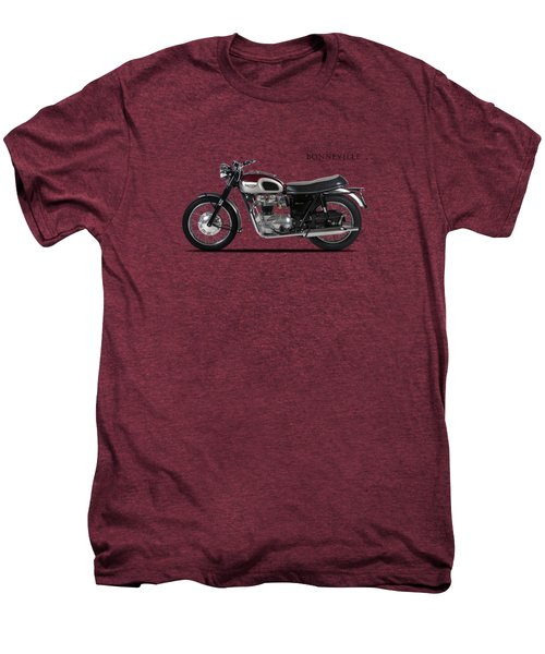 Triumph Bonneville 1968 Men's Premium T-Shirt by Mark Rogan