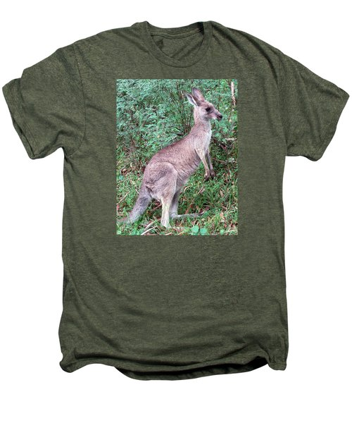Grazing In The Grass Men's Premium T-Shirt by Ellen Henneke