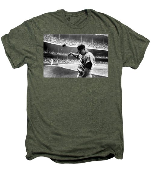 Mickey Mantle Men's Premium T-Shirt by Gianfranco Weiss