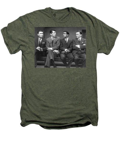 Ocean's Eleven Rat Pack Men's Premium T-Shirt by Underwood Archives