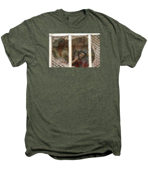 Men's Premium T-Shirt featuring the photograph Sacri Monti  by Travel Pics
