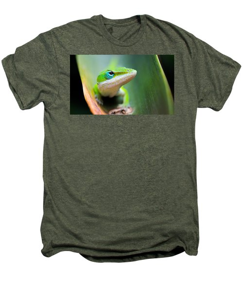 The Watching Eye Men's Premium T-Shirt by Shelby  Young