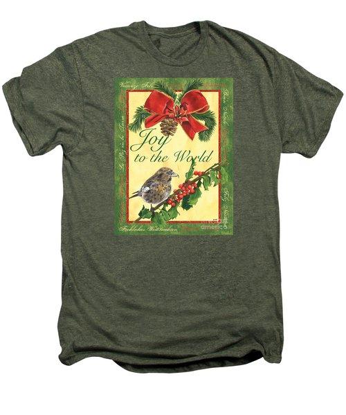 Xmas Around The World 2 Men's Premium T-Shirt by Debbie DeWitt