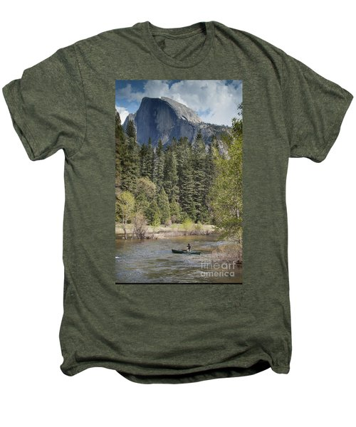 Yosemite National Park. Half Dome Men's Premium T-Shirt by Juli Scalzi