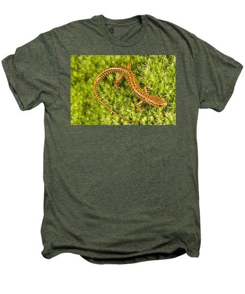 Longtail Salamander Eurycea Longicauda Men's Premium T-Shirt by Jack Goldfarb